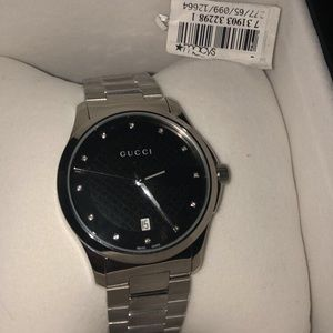 Men's auth Gucci G Timeless Stainless Steel Watch